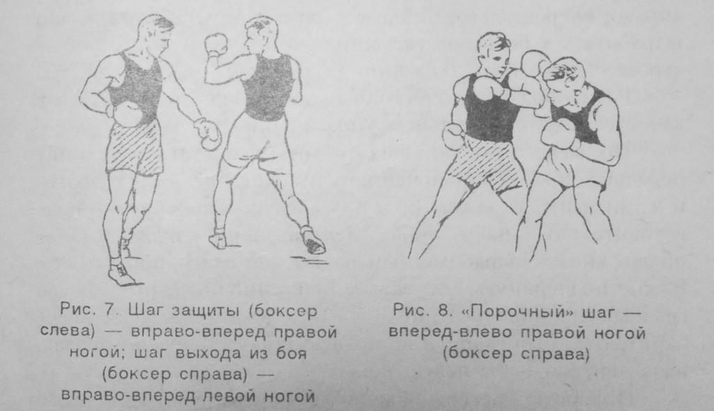 бокс шаги